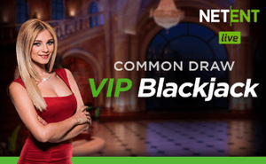 Blackjack Common Draw beste live dealer spill