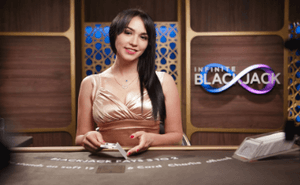 Infinite Blackjack beste live dealerspill topp 10 live casino spill