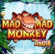 Mad Mad Monkey Scratch online skrapelodd bonus til skrapelodd på nett gratis skrapelodd