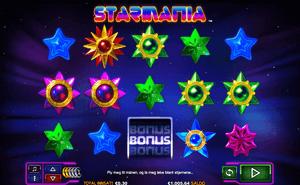 Starmania spilleautomat høy rtp