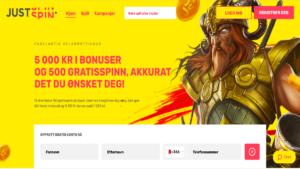 Justspin online casino