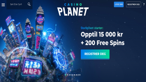 CasinoPlanet skrapelodd